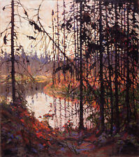 Northern River    by Tom Thomson  Giclee Canvas Print Repro