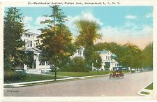 Homes on Fulton Avenue, Residential Section, Hempstead L.I. Ny