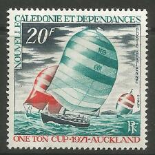 NEW CALEDONIA. 1971. One Ton Cup Yacht Race Commem. SG:483. Mint Never Hinged.
