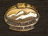 VINTAGE DOGS SCHOOLEY'S MOUNTAIN KENNEL CLUB MEDAL NEW NOS