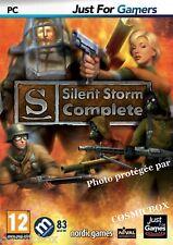 SILENT STORM COMPLETE jeu de guerre pour PC 40 soldats d'élite 75 armes VF neuf