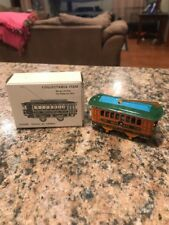 COLORFUL 1920s TIN LITHO TOY BROADWAY TROLLEY FRICTION CAR 270 Repop?