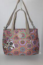 Kipling TM5497 563 Late Dusk Print Colorful Pink Lizabeth Laptop Protection Tote