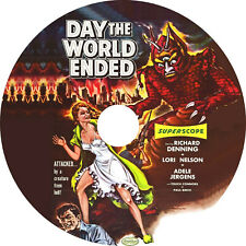 Day the World Ended (1955 Cult Sci-Fi Film) Mod Dvd disc only
