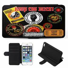 Personalised iPhone Case NORTHERN SOUL Cover Flip Wallet Phone Keep Faith KS65