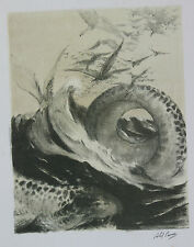 Abel Pann Lithographie Genesis Bible Judaïca Jewish Art juif Israël Palestine 7