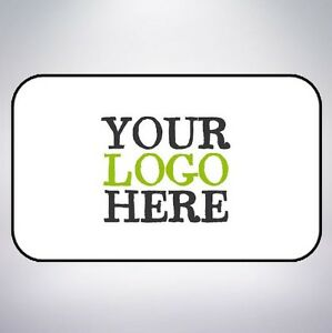 LOGO Printed Rectangle Stickers - Custom Logo labels - postage -Personalised