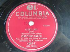 Josephine Baker - COLUMBIA 4087-D - C'est Lui!