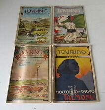 RIVISTA MENSILE TOURING CLUB ITALIANO ANNO   XIX  n°3-7-9-10 DEL 1913