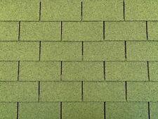 Dachschindeln 24 m? Rechteck Form Grün (8 Pakete) Schindeln Dachpappe
