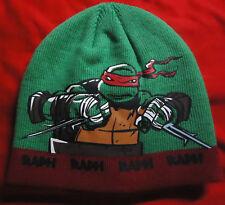 Raph / Raphael - Teenage Mutant Ninja Turtles - Beanie / Mütze - kids size - NEU