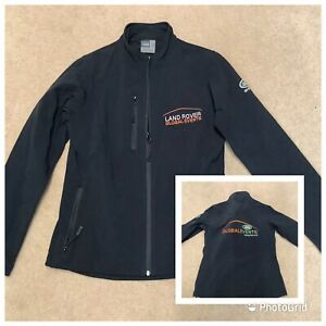land rover Global Events Ladies Soft Shell Jacket Black Embroidered Coat M