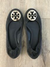 Tory Burch Navy Leather Flats Women's Size 8.5M