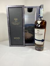 Macallan Estate single malt highland scotch whisky limited bottles