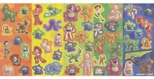 DISNEY TOY STORY GLOW IN THE DARK 12 STICKER SHEETS - 6 STYLES (2 of each style)