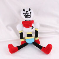 NEW GAME Undertale Papyrus Stuffed Plush Toy Doll Christmas Gift 10""