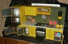 Blechküche Spielküche Puppenküche Schopper 70er gelb vintage