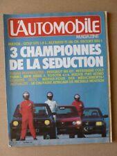 AUTO N° 438, Peugeot 305 Gt, Toyota Land Cruiser HJ60, Volkswagen Golf Gt