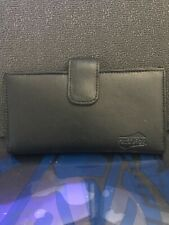 AMERICAN TOURISTER® BLACK CHECKBOOK Credit Card CLUTCH Wallet New W/O Tags