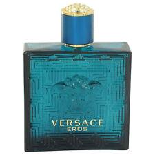 Versace Eros By Versace Tstr 3.4 oz./100ml Edt Spray For Men New&Unbox No Cap
