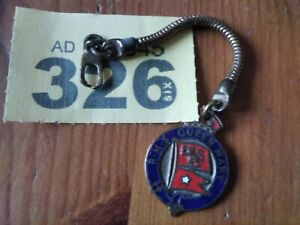 Vintage RMS Queen Mary Keyring