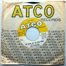 The Coasters on vg+ Atco 45 The Snake & The Book Worm ~ Shoppin For Clothes w819
