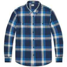 Edwin LS Labour Shirt, Blue Check, M