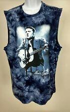 Elvis Presley T-Shirt King Of Rock N Roll Live Tank Top Sz Med (38-40) NWT #260
