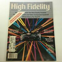 VTG High Fidelity Music Magazine July 1982 - Audio & Video Component Special