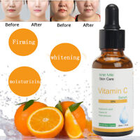 Pure Vitamin C Hyaluronic Acid Serum 20% for Face BEST Anti Aging Micro 30 mL
