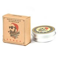 2x Natural Beard Balm Moisturizing Oil Wax Eucalyptus/Sandalwood Organic 60g