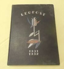 1931 Whitmore College Yearbook,Brookhaven Mississippi, LEOFOST