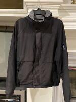 Nautica 90's Vintage Jacket Coat Black Size Medium Mens EUC!