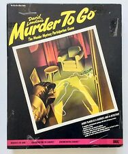 "VINTAGE IDEAL ""MURDER TO GO""  BOARD GAME 1985 RARE"