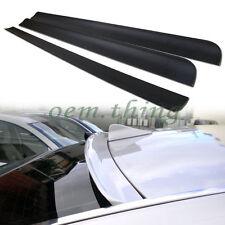 For VOLVO S40 2nd Facelift ROOF WINDOW SPOILER WING PUF 2008-2012 4D SEDAN