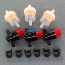 3x Kraftstoffhahn Kraftstoffilter für Briggs & Stratton 494768 697947 AM36141