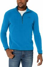 Jack Wolfskin Echo Men's Fleece Jumper Pullover Hiking Training Thermal Blue M