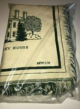Ypsilanti Michigan Throw Tapestry Woven History Buildings 1823 Water Tower Pease