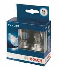 2X BOSCH Pure Light H7 Halogen Headlamp Headlight Car Van Bulbs 477/499 12V 55W