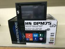 Hardstone HS Dpm75 Autoradio 2 DIN Bluetooth DVD USB SD Navigatore Mappa EUR