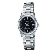 Casio Classic Women's LTP-V002D-1AUDF Black Dial Metal Analog Watch