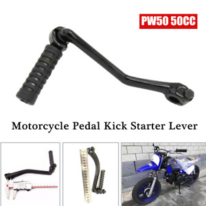 1×Universal Motorcycle Kick Starter Lever Pedal Gear Lever Bar Fit For PW50 50CC