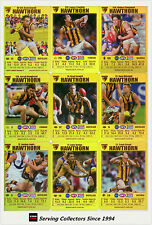 2008 AFL Teamcoach Trading Card Gold Team Set Hawthorn (11)