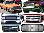 BIL-FO-10  Grille 1997-2002 FORD EXPEDITION Expedition Bumpr Insert Xlt B226