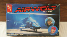 1984 1/48 Amt Ertl Airwolf Helicopter Rare #6680 Complete