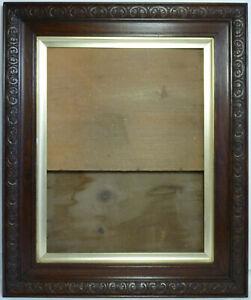 Antique Decorative Oak Picture Frame. Large - 618 x 516mm. Slip & Back Panels