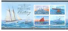 Isle of Man-Maritime History-Sailing ships min sheet mnh-2015