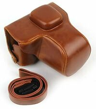 PU Leather Case Bag Cover For Olympus Pen E-PL7 E-PL8 with 14-42mm Lens