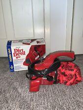 NEW Dirt Devil Hand Vac Brand New Open Box Red Vacumn