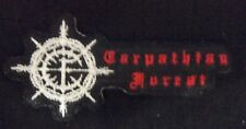 CARPATHIAN FOREST. EMBROIDERED  PATCH